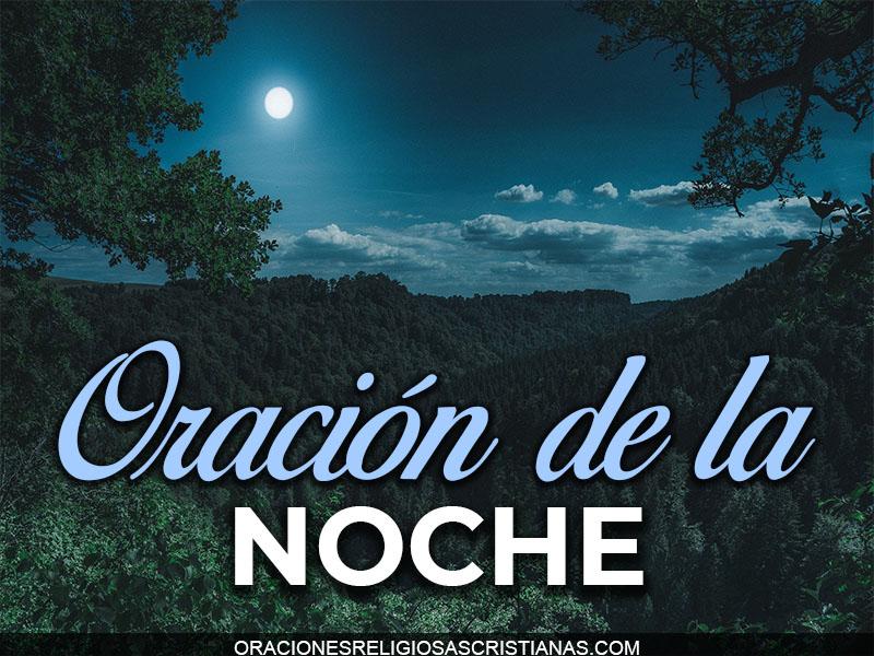 oracion noche