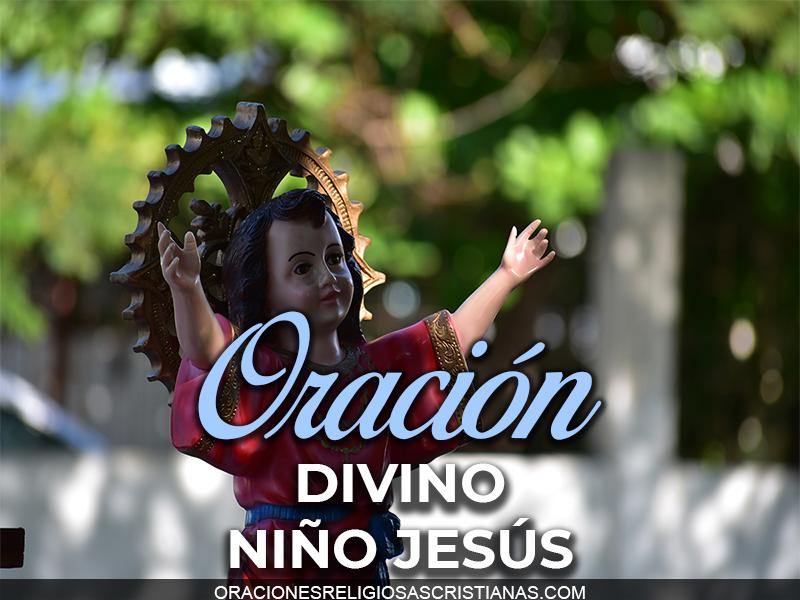 oracion divino niño jesus